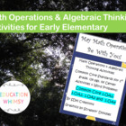 1st Grade Math Common Core Activities &amp; Word Problems
