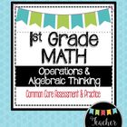 1st Grade Math OA~Operations & Algebraic Thinking Common C
