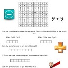 1st Grade Math Word Search