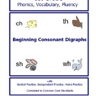 1st Grade Phonics Unit - Consonant Digraphs at Beginning