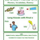 1st Grade Phonics Unit - Long Vowels with Final e