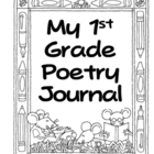 1st Grade Poetry Journal-correlates with Treasures Califor