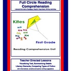 1st Grade Reading Comprehension Unit - Kites