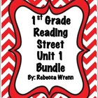 First Grade Reading Street Unit 1 Literacy Activities  Bundle