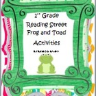First Grade Reading Street  Frog and Toad Together Literac