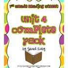 1st Grade Reading Street - Unit 4 Complete Pack