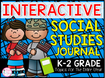 1st Grade Social Studies Journal {25 Topics for the Entire Year}