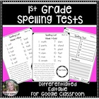 1st Grade Spelling Through the Year