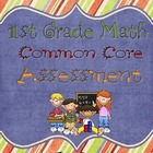 1st Grade Spring Common Core Assessment- Math