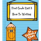 1st Grade Writing Unit 3 Charts and Lessons