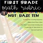 1st grade Common Core Math Number and Operations Base Ten