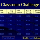 1st grade &#039;Jeopardy-style&#039; Math PowerPoint VERSION I