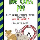 Unit 3, week 3 The Class Pet: 1st grade Reading Street