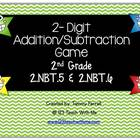 2-Digit Addition/Subtraction Game 2.NBT.5 and 2.NBT.6