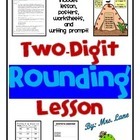 2 Digit Rounding (Round to Nearest 10) Lesson Plan