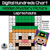 2 Leprechaun Hundreds Chart Hidden Picture Activities for