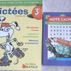 2 NEW French student workbook dictees spelling practice re