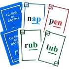 2 Phonics Games-Hard Goods-Go Fish for Rhymes &amp; Silent Magic