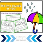 2 Sounds of &quot;ea&quot; Phonics Center: 2nd Grade Common Core