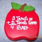 2 Teach is 2 Touch Lives 4 Ever Single Pencil Holder