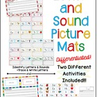 2 in 1 – Letter and Sound Picture Mats - Two Activities in