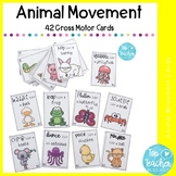 20 Animal movement cards