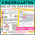 20 Day Check-Up {Kindergarten Review: Reading Foundational}