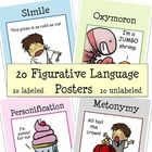 20 Figurative Language Posters