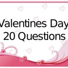 20 Questions PowerPoint Valentine's Day Version