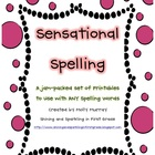 20 Spelling Printables to Use with ANY Spelling List