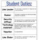 20 Student Duties / Classroom Helpers Chart
