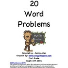 20 addition and subtraction word problems  aligns with CCSS