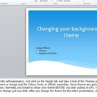 2010 PowerPoint Lesson - Themes, Transitions, and Sounds