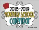 2013-2014 Monthly School Calendar