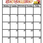 2012-2013 School Week Calendar