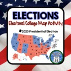 2012 Election Electoral College Map Activity