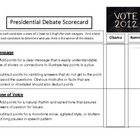 2012 Election - Presidential Debate