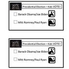 2012 Presidential Election Ballot