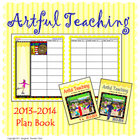 2013-2014 Plan Book, Artful Teaching Theme