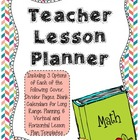 2013-2014 Teacher Lesson Planner - Lesson Plan Book