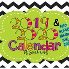 2013 Editable Calendar