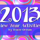 2013 New Year Creative Writing Activities {FREE}