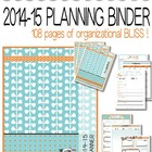 2014-15 Teacher Organization Binder ... Outstanding Design