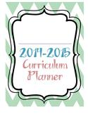 2014-2015 Curriculum Planner FREEBIE
