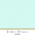 2014-2015 Editable Teacher Planner - mint, green, & navy