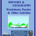 20th Century History - Worksheets and Puzzles