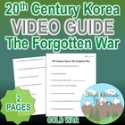 20th Century Korea: The Forgotten War Original Video Guide