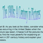 20th Century in Pictures Powerpoint