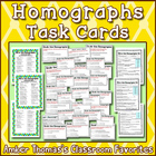 21 Homographs Activity Task Cards