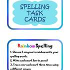 21 Spelling Task Cards Center
